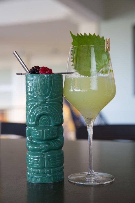 Queen Kapiolani Hotel - Deck Cocktails <br/>Image from Leonardo