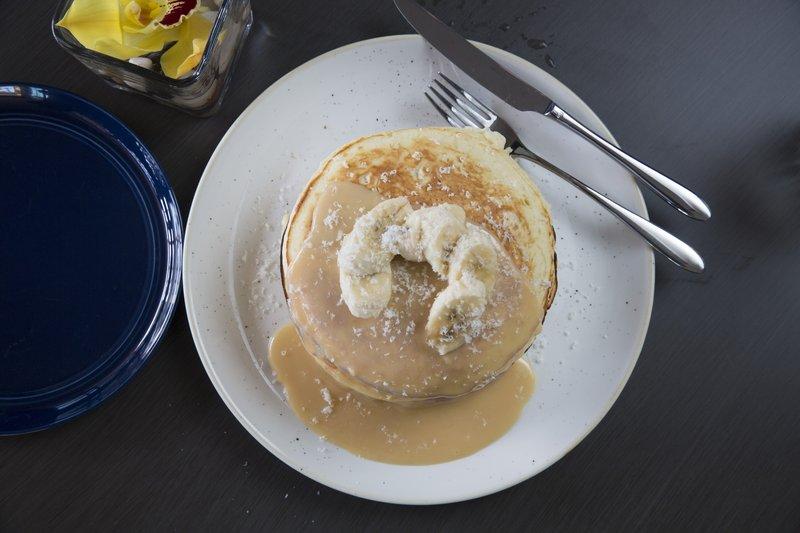 Queen Kapiolani Hotel - Deck Triple Stack Pancakes <br/>Image from Leonardo