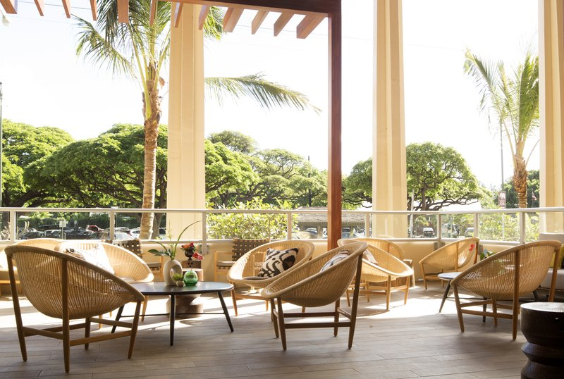 Queen Kapiolani Hotel - Knots Terrace <br/>Image from Leonardo
