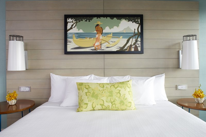 Queen Kapiolani Hotel - QKH King Bed <br/>Image from Leonardo