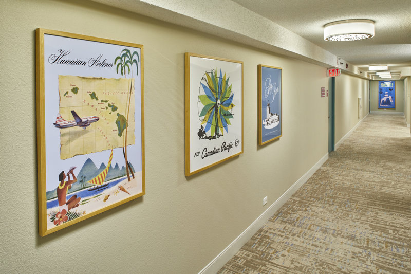 Queen Kapiolani Hotel - QKH Hallway Artwork <br/>Image from Leonardo