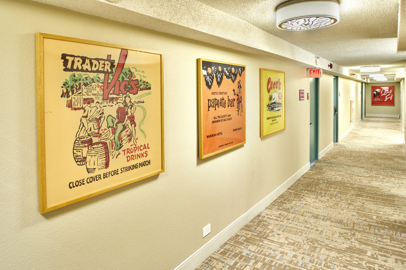 Queen Kapiolani Hotel - QKHHallway Artwork <br/>Image from Leonardo