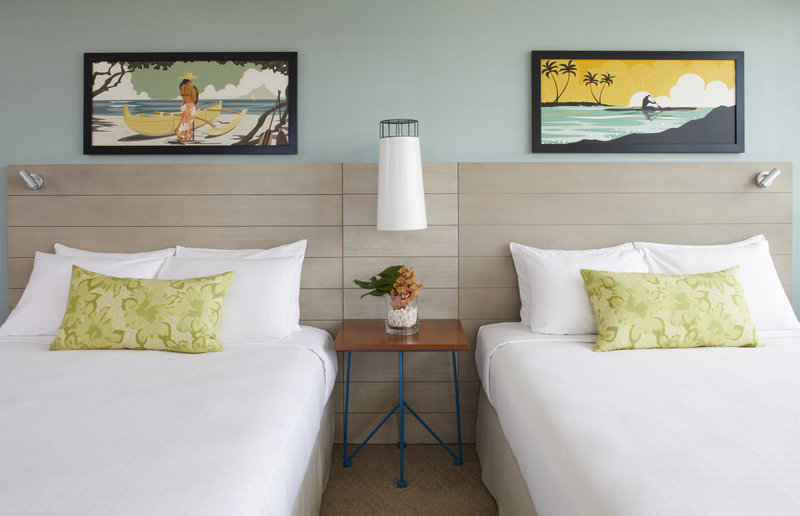 Queen Kapiolani Hotel - QKH Queen Queen Beds <br/>Image from Leonardo