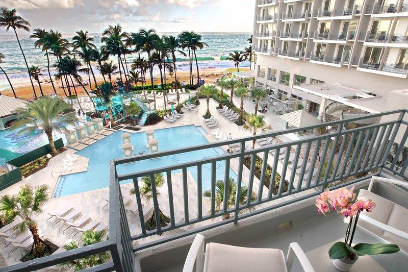Marriott San Juan Resort - Corner Cabana View <br/>Image from Leonardo