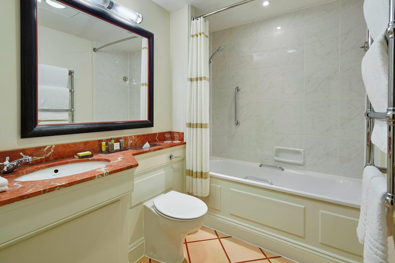 Bournemouth Highcliff Marriott Hotel-Guest Bathroom<br/>Image from Leonardo