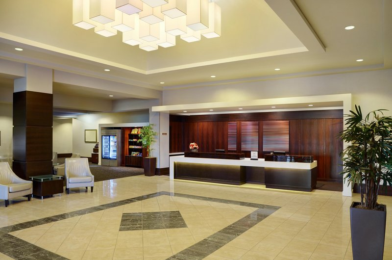 Hilton Winnipeg Airport Suites-Lobby<br/>Image from Leonardo