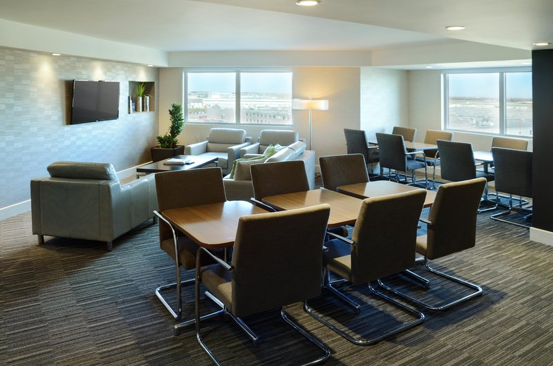 Hilton Winnipeg Airport Suites-Executive Lounge View<br/>Image from Leonardo