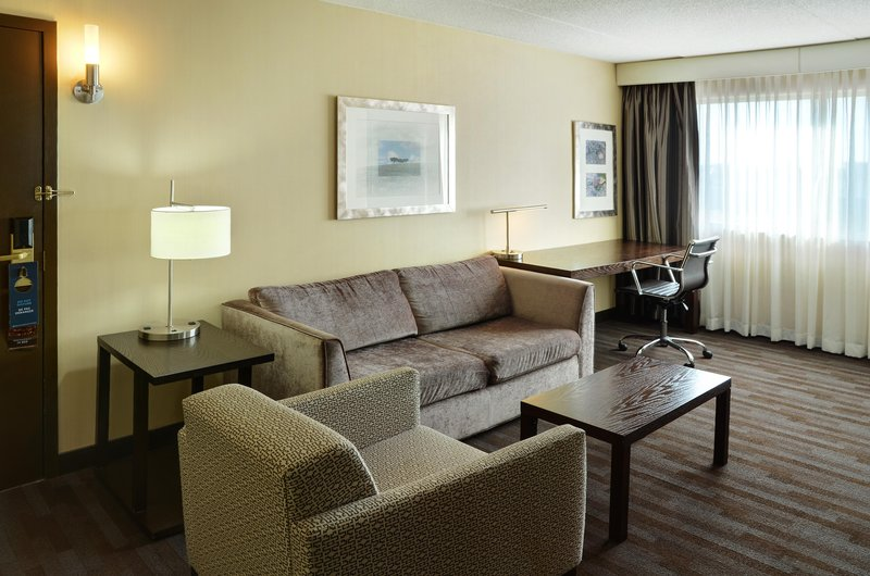 Hilton Winnipeg Airport Suites-King Suite SofaBed<br/>Image from Leonardo