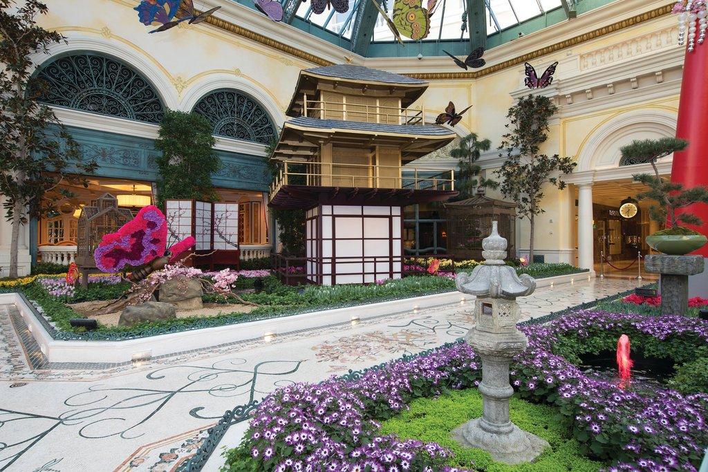 Bellagio - Conservatory & Botanical Garden <br/>Image from Leonardo