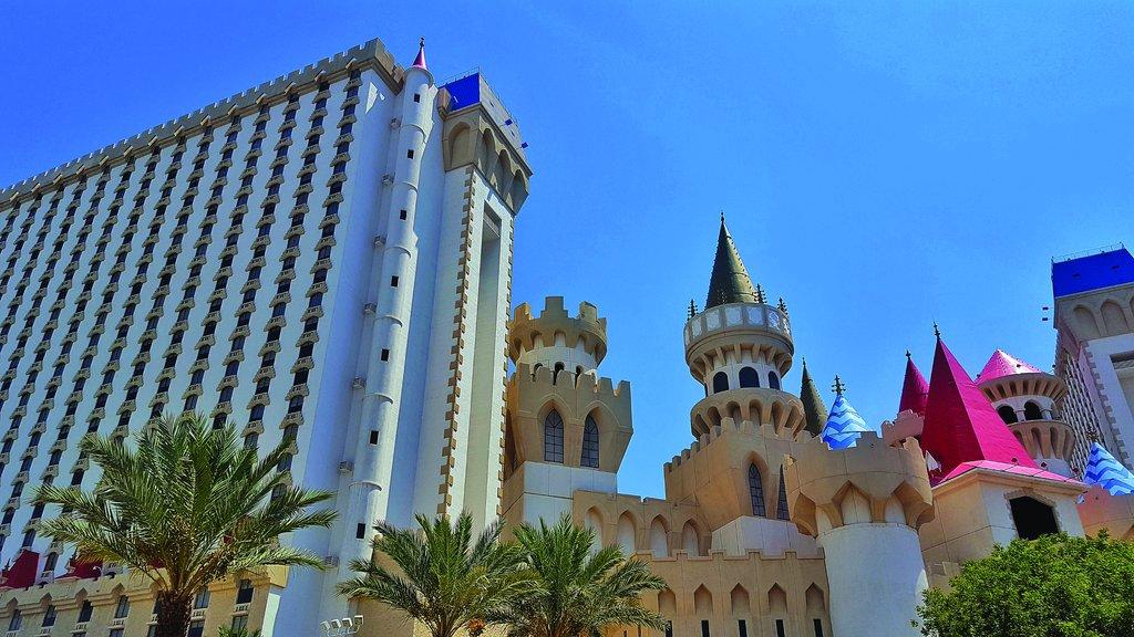 Excalibur Hotel and Casino - Exterior <br/>Image from Leonardo