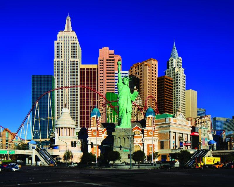 New York-New York Hotel - Exterior <br/>Image from Leonardo