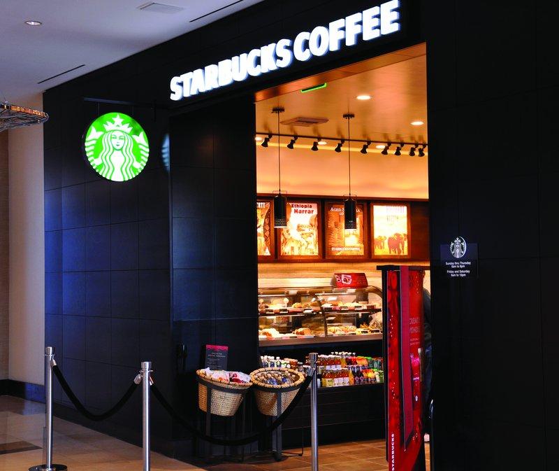 Vdara Hotel & Spa at Aria Las Vegas - Starbucks <br/>Image from Leonardo