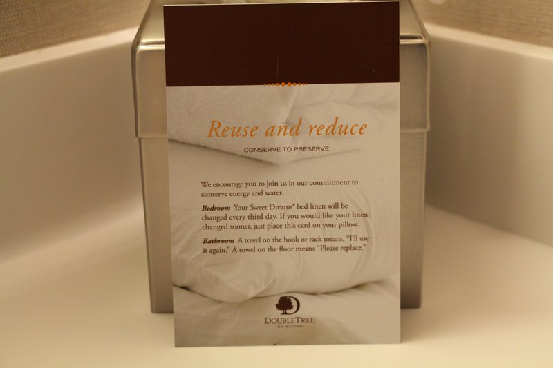 DoubleTree by Hilton Hotel Fresno Convention Center-Reduce and Reuse<br/>Image from Leonardo