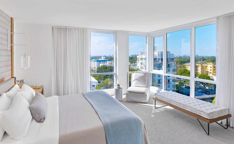 1 Hotel South Beach-1-Bedroom Suite (1BSTE) bed<br/>Image from Leonardo