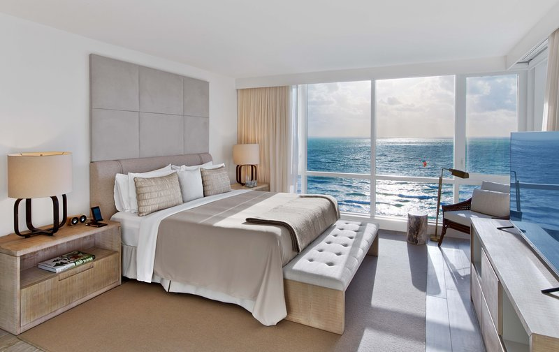 1 Hotel South Beach-2-Bedroom Home Ocean View Balcony (2HOVB) bed<br/>Image from Leonardo