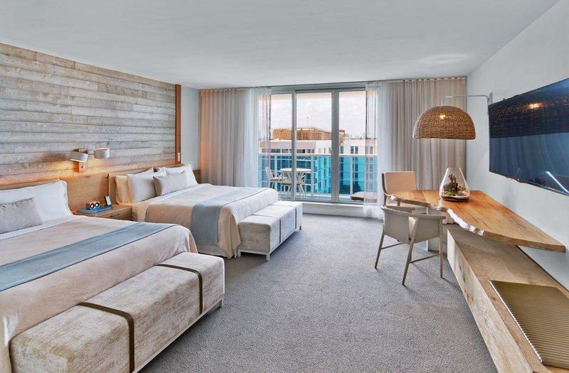 1 Hotel South Beach-Two King Beds Balcony (2KINGB)<br/>Image from Leonardo