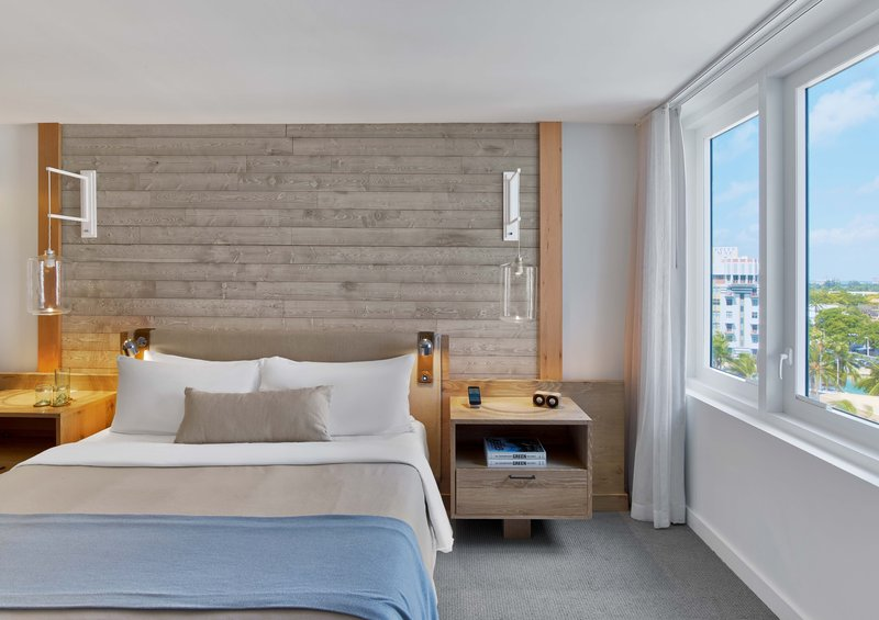 1 Hotel South Beach-Ocean View 1-Bedroom Suite Balcony (O1STEB) bed<br/>Image from Leonardo