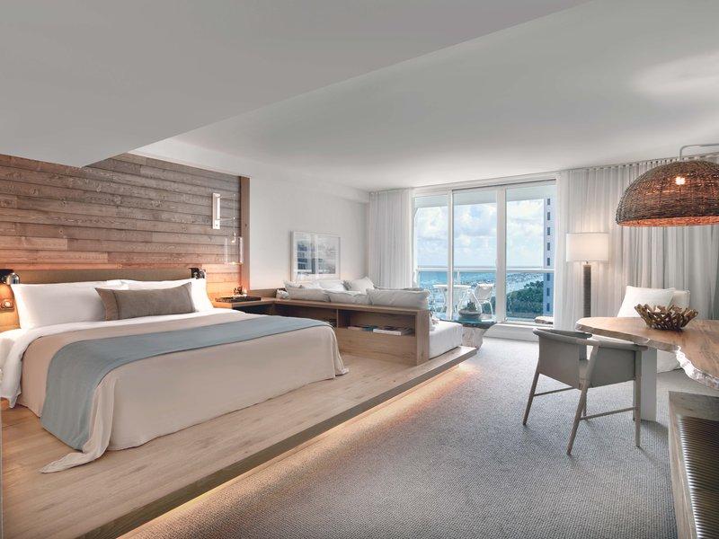 1 Hotel South Beach-Ocean View King Room Balcony (OVKB)<br/>Image from Leonardo
