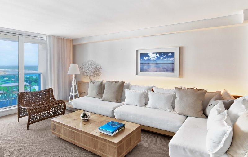 1 Hotel South Beach-Ocean View 1-Bedroom Suite Balcony (O1STEB) living<br/>Image from Leonardo