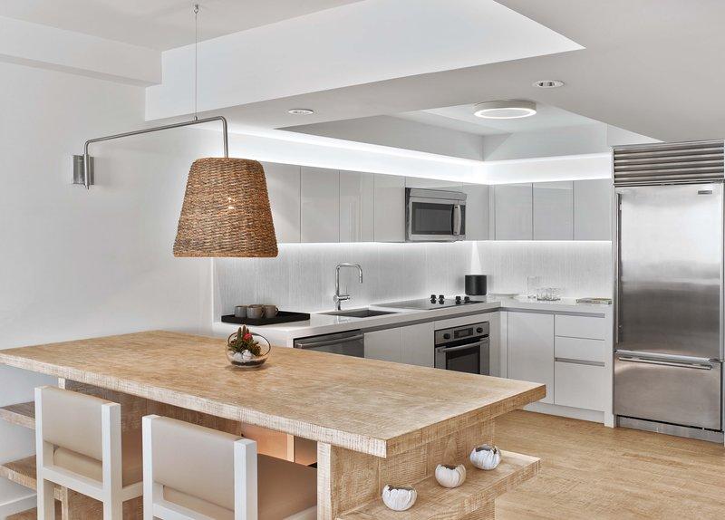 1 Hotel South Beach-Studio Suite Balcony (STUSTB) kitchen<br/>Image from Leonardo