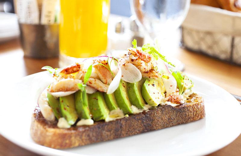 1 Hotel South Beach-Avacado Crab Toast<br/>Image from Leonardo