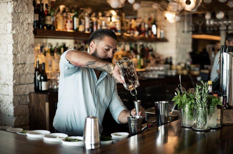 1 Hotel South Beach-Bartender<br/>Image from Leonardo
