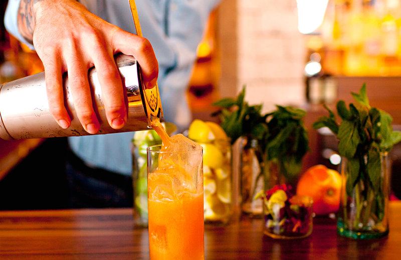 1 Hotel South Beach-F&B Bartender Drink Closeup<br/>Image from Leonardo