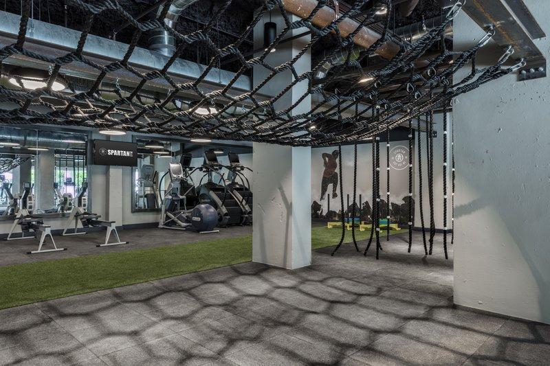 1 Hotel South Beach-Spartan Gym<br/>Image from Leonardo