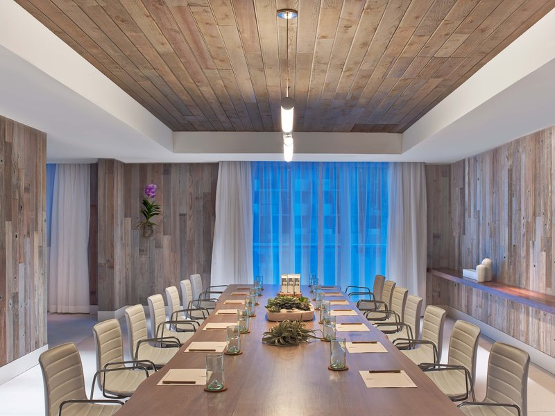 1 Hotel South Beach-Meeting Space - Indigo<br/>Image from Leonardo