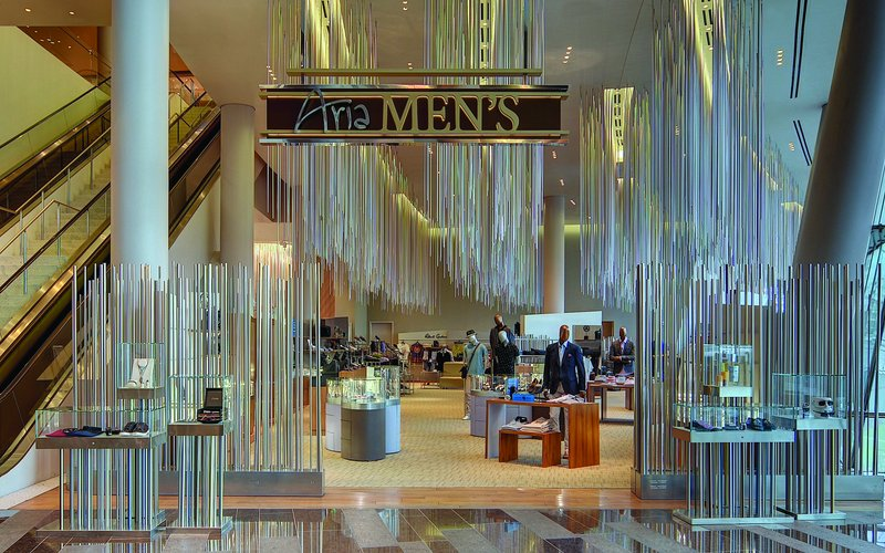 Aria Resort and Casino - Shopping <br/>Image from Leonardo