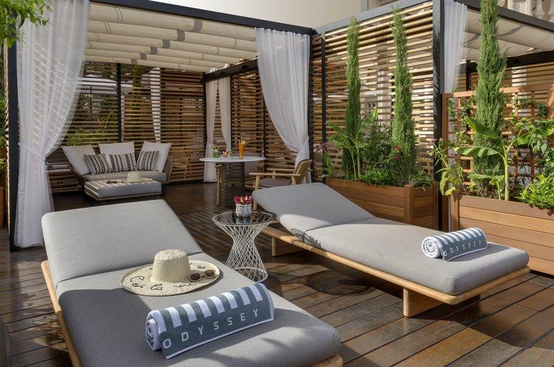 HOTEL METROPOLE MONTE CARLO-Private Cabanas at Odyssey<br/>Image from Leonardo