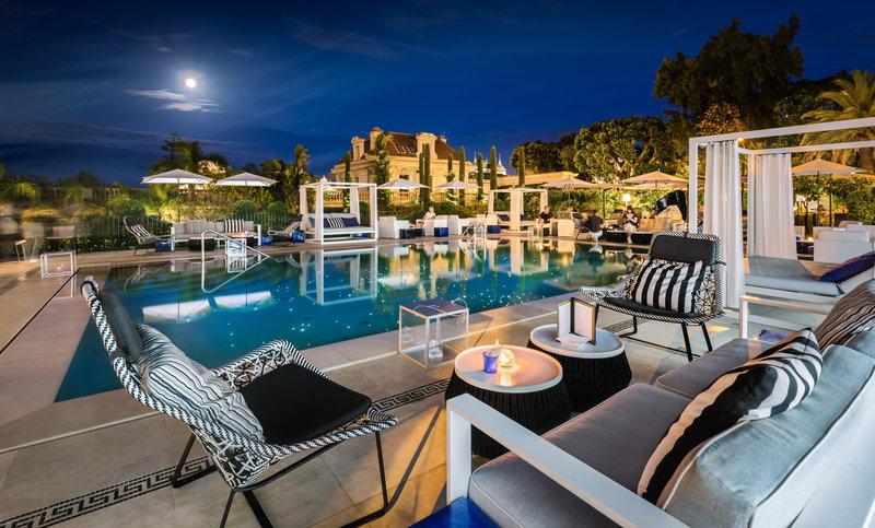 HOTEL METROPOLE MONTE CARLO-Odyssey by night<br/>Image from Leonardo