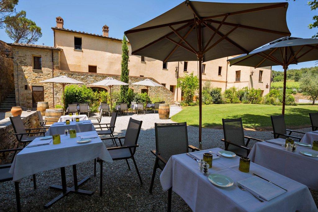 Castel Monastero-Garden Winecellar<br/>Image from Leonardo