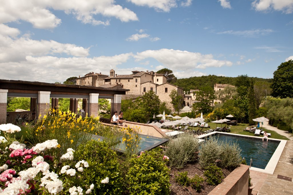 Castel Monastero-Gym And Pools<br/>Image from Leonardo