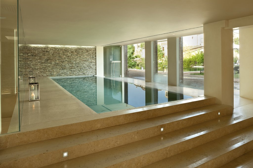Castel Monastero-Spa Pool<br/>Image from Leonardo
