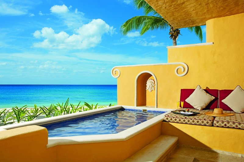 Zoetry Paraiso La Bonita - Suite Terrace <br/>Image from Leonardo