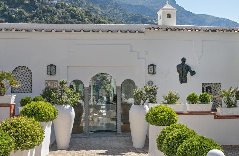 Hotel Villa Franca Positano-Residence Entrance<br/>Image from Leonardo