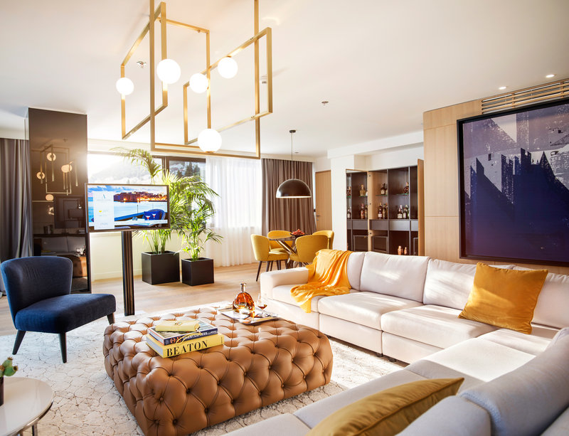 Excelsior-Presidential Suite Living Room - The Tower<br/>Image from Leonardo