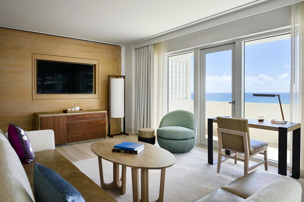 Nobu Hotel Miami Beach - Nobu Zen Seating Area <br/>Image from Leonardo