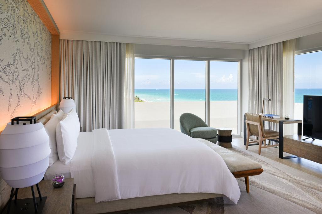 Nobu Hotel Miami Beach - Zen Suite Ocean View <br/>Image from Leonardo