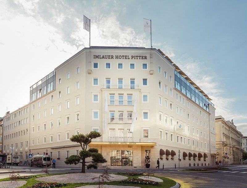 Imlauer Hotel Pitter Salzburg-Hotel entrance<br/>Image from Leonardo