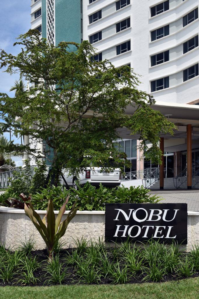 Nobu Hotel Miami Beach - Front Entrance Signage <br/>Image from Leonardo