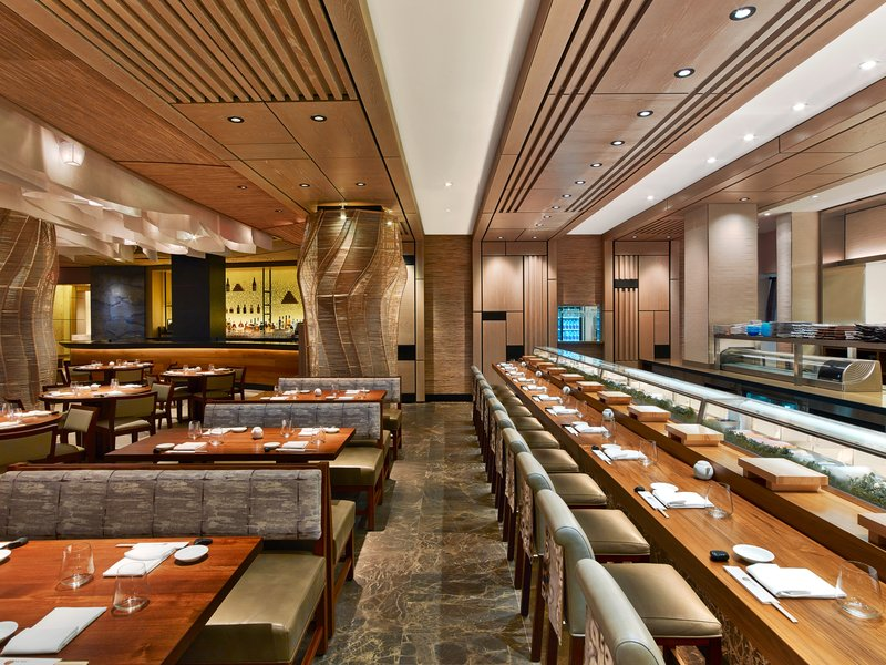 Nobu Hotel Miami Beach - Nobu Restaurant Sushi Counter <br/>Image from Leonardo