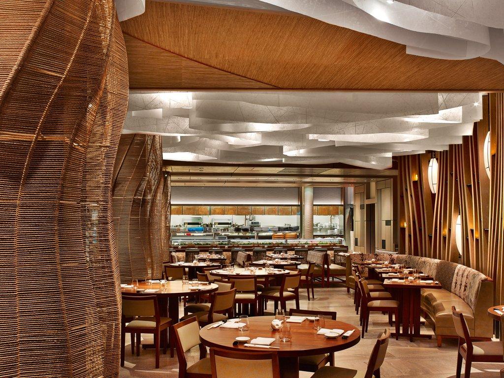 Nobu Hotel Miami Beach - Nobu Miami Restaurant Dining Room To Kitchen View <br/>Image from Leonardo