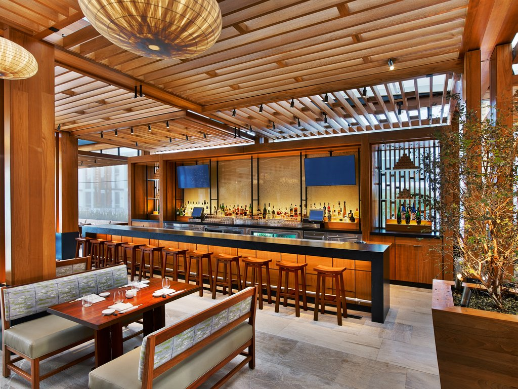 Nobu Hotel Miami Beach - Nobu Restaurant Bar Outdoor <br/>Image from Leonardo