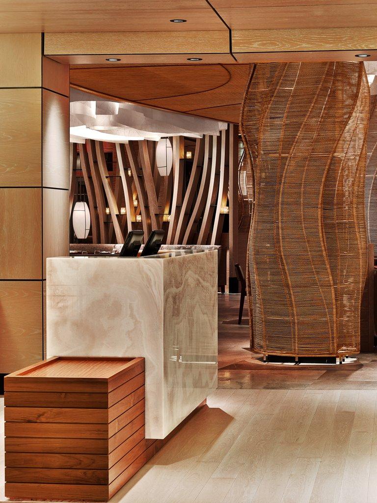Nobu Hotel Miami Beach - Nobu Restaurant Hostess Stand <br/>Image from Leonardo
