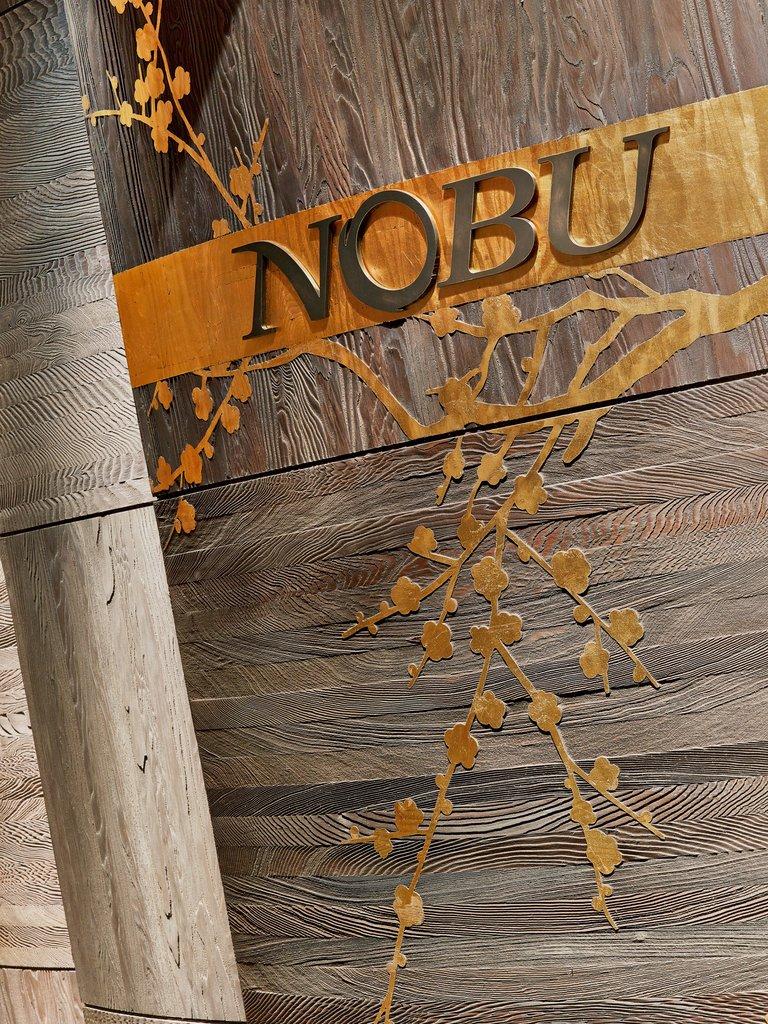 Nobu Hotel Miami Beach - Nobu Restaurant Sign <br/>Image from Leonardo