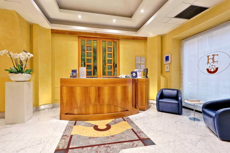 Camelia Hotel-Reception Desk<br/>Image from Leonardo