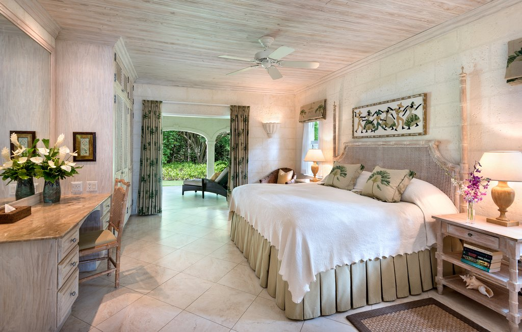 Coral Reef Club-The Bedroom of Tamarind Villa<br/>Image from Leonardo