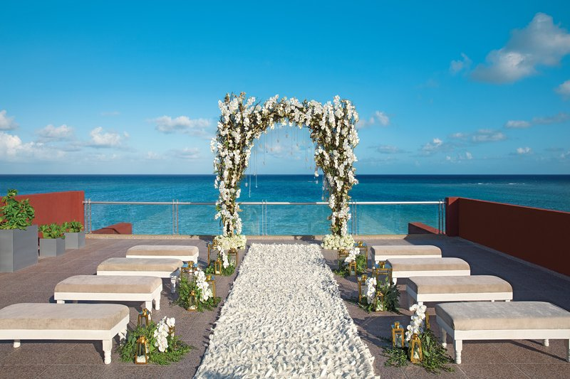 Zoetry Paraiso La Bonita - Oceanfront Rooftop Terrace- wedding <br/>Image from Leonardo